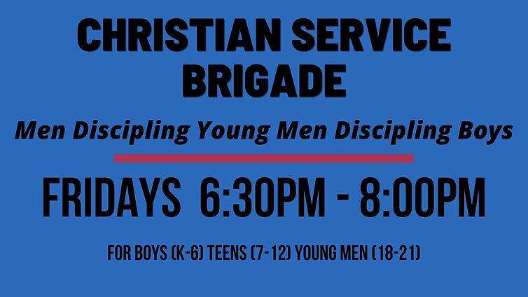 Christian Service Brigade Fridays.jpg