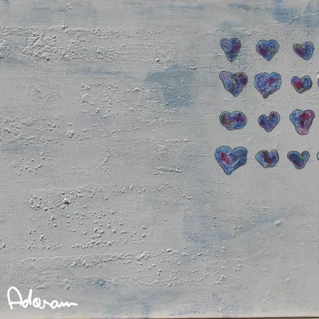Children's Hearts (Blue)
