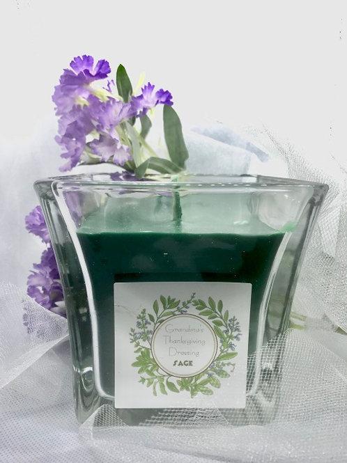 Sage Handmade candle