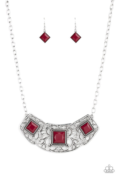 Feeling Inde Pendant   Red
