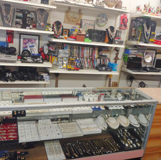 Items for sale at Crown Pawn Shop