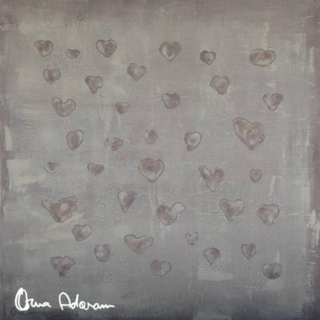 Purple threesome (hearts)