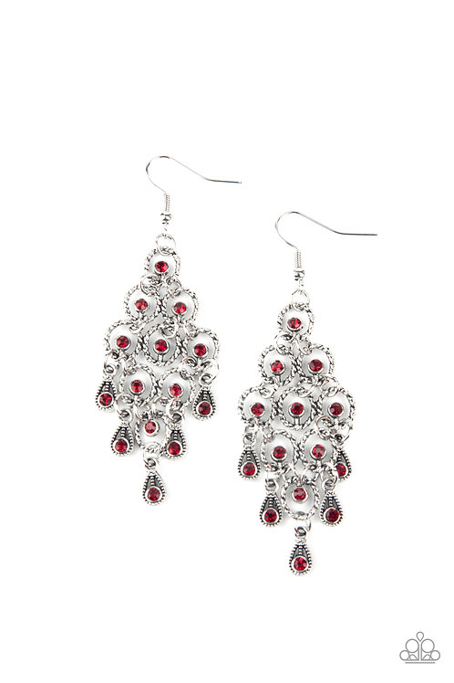 Chandelier Cameo - Red