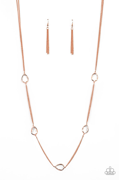 Teardrop Timelessness   Copper