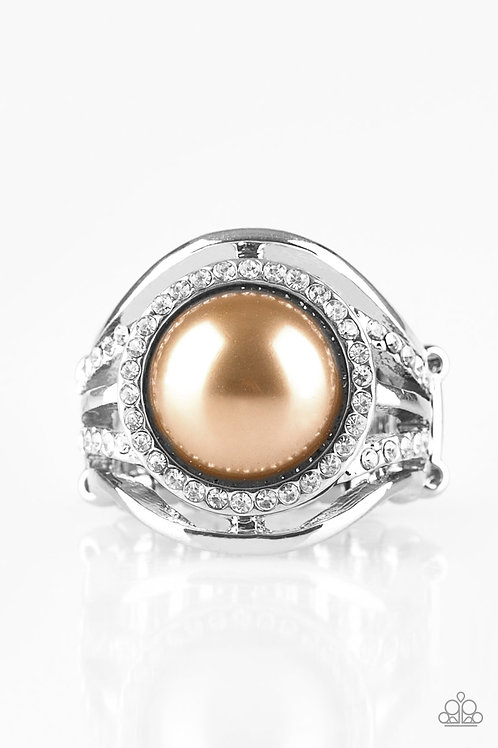 Pampered In Pearls - Brown