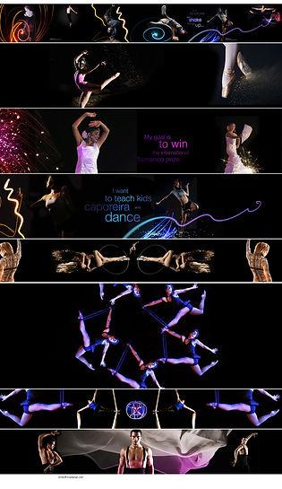 Las Vegas Performers Projection