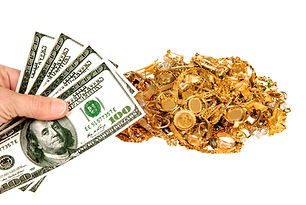 Image to represent cash for your gold - Crown Pawn Shop