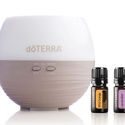 doTERRA Petal Diffuser Collection with Lavender and Wild Orange Essential Oils