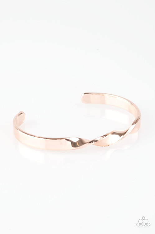 Traditional Twist   Rose Gold