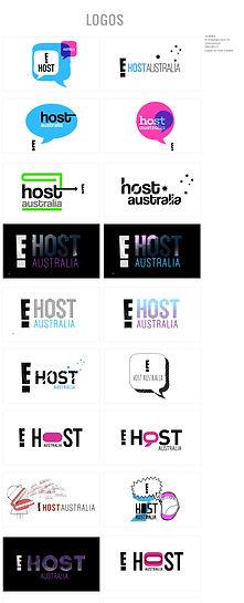 Logo Design for E! Host Australia