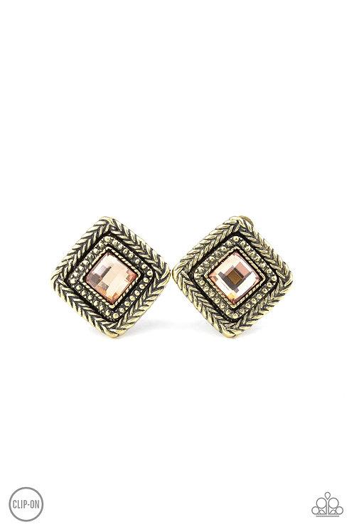 Fashion Square   Brass