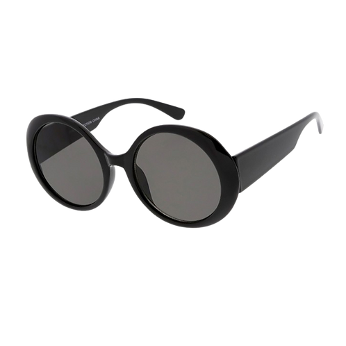 Woman's Sunglasses - Black/Smoke