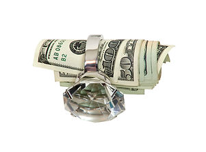 Image to represent cash for your diamonds - Crown Pawn Shop