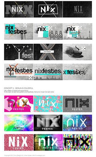 """""""Nix Festes"""" TV Show Package"""