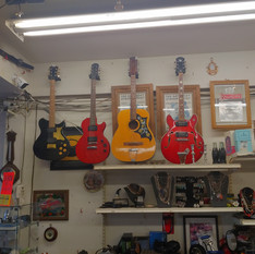 Guitars for sale at Crown Pawn Shop
