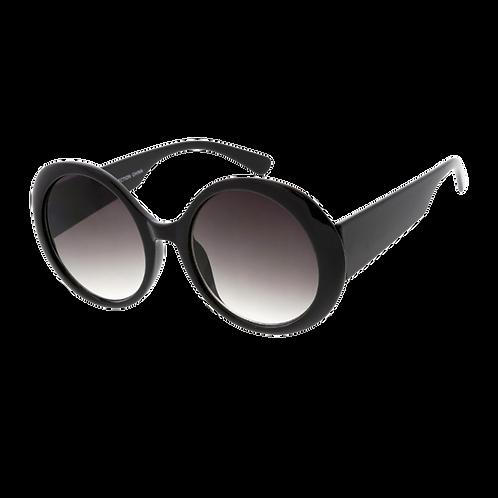 Woman's Sunglasses - Black / Lavender