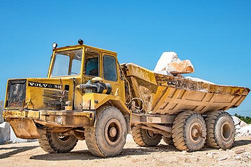 Truck in Evora Granite Yard