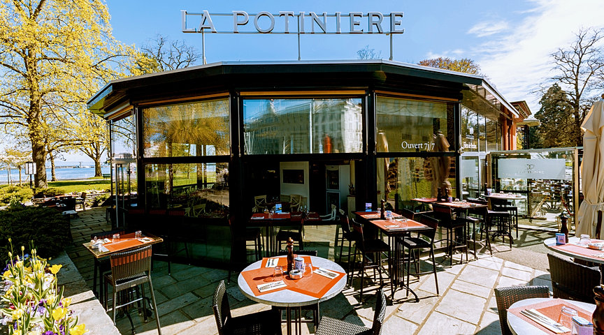 restaurant gen ve la potini re jardin anglais