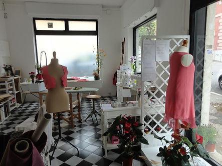 Workshop space at Lo Spazio dell'Arte e Sartoria