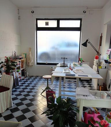 Workshop at Lo Spazio dell'Arte e Sartoria