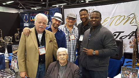 Some of the Sax Dakota brothers with pap
