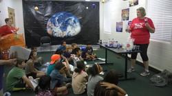 Kim Kyle teaching VBS