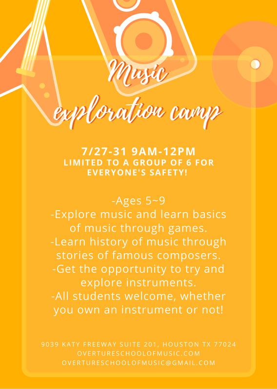 Summer music camp