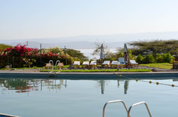 Breathtaking Poolside Views