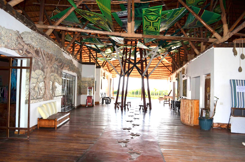 Hotel Lobby Hallway