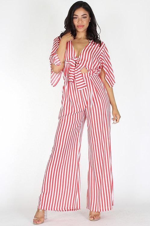 Striped Red Jumper