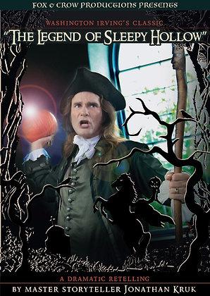 DVD - The Legend of Sleepy Hollow, a dramatic retelling by Jonathan Kruk