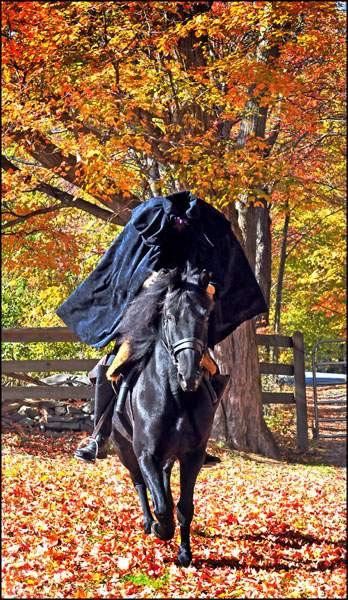 The Headless Horseman Galloped into My Life.