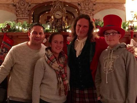 """A Christmas Carol"" with the Garcia Family"