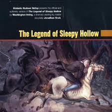 CD - The Legend of Sleepy Hollow unabridged by Jonathan Kruk