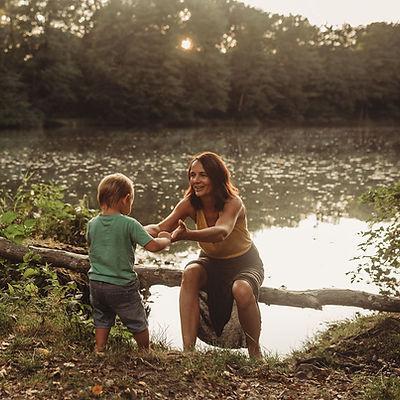 Erzieherin und Eltern-Kind-Kursleiterin