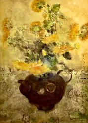 Chen Chi - Still Life Flowers 1