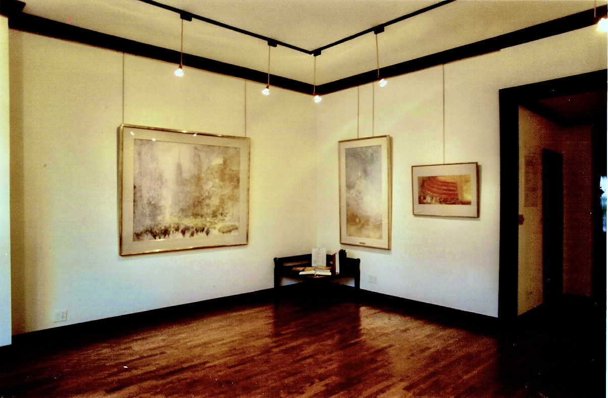 "Chen Chi's ""High Noon, Fifth Ave."" ehibited at the Gallery in 1998"