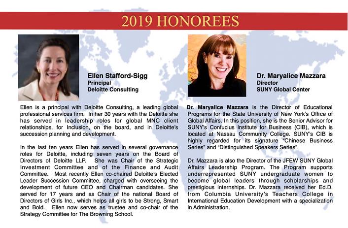Ellen Stafford-Sigg and Dr. Maryalice Mazzara
