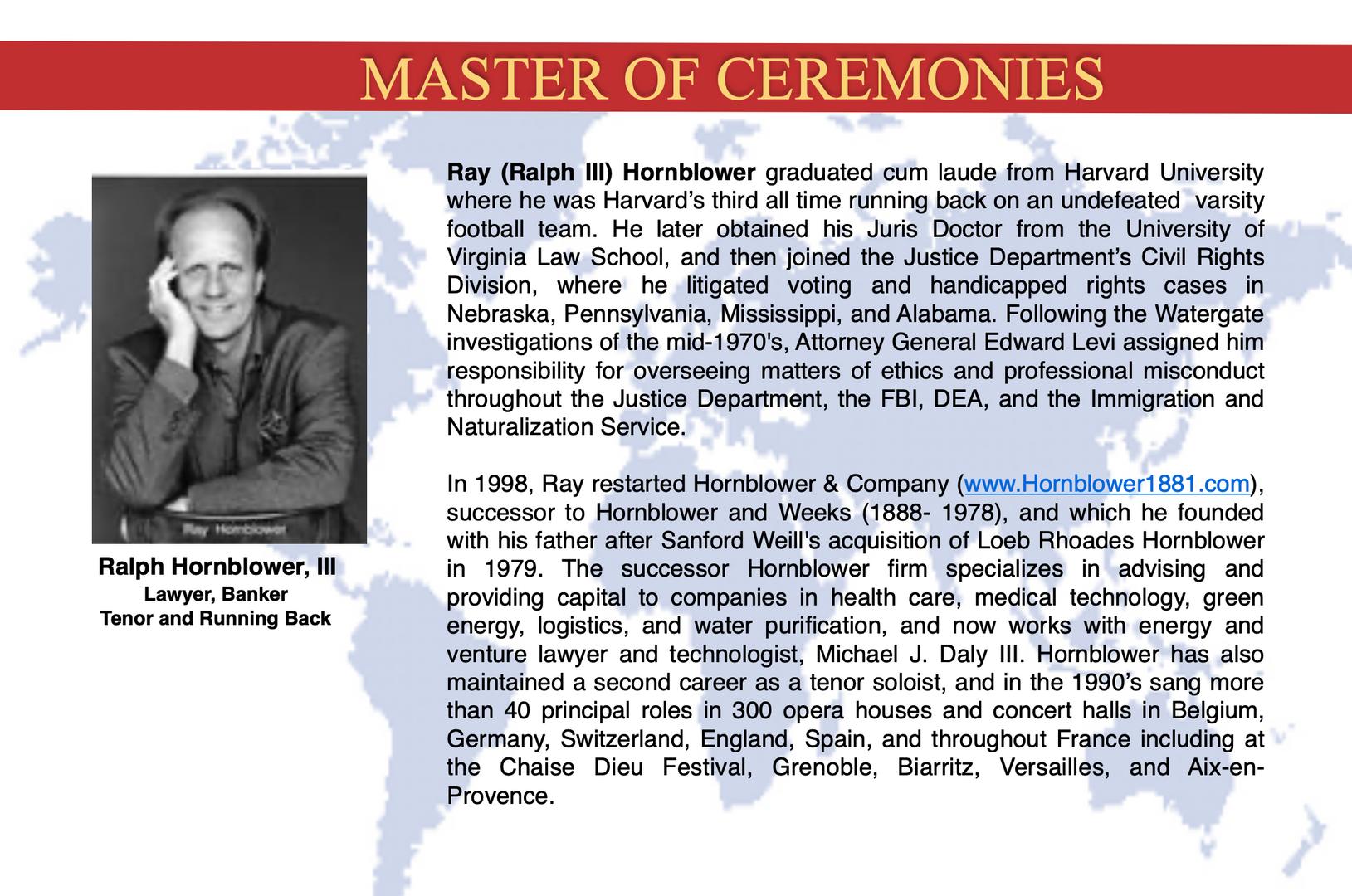 Ralph Hornblower, III