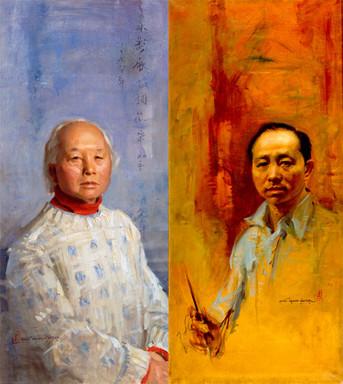 Chen Chi by Evereet Raymond Kinstler