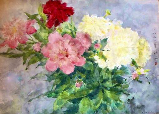 Chen Chi - Still Life Flowers 2