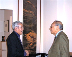 I.M.Pei, Mu Xin at the Elizabeth Wang Gallery