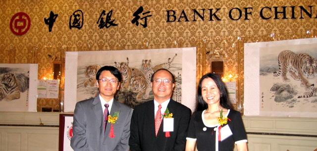 Xinle Ma, Xiaojing Li, Elizabeth Wang at