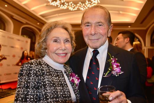 Mr. & Mrs. Maurice R. and Corinne P. Greenberg