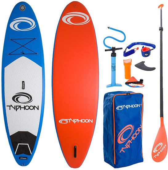 Typhoon Inflatable Stand Up Paddle Boarding Package 10'2