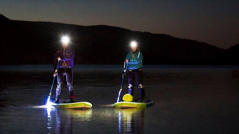 Night Time SUP Paddle Session
