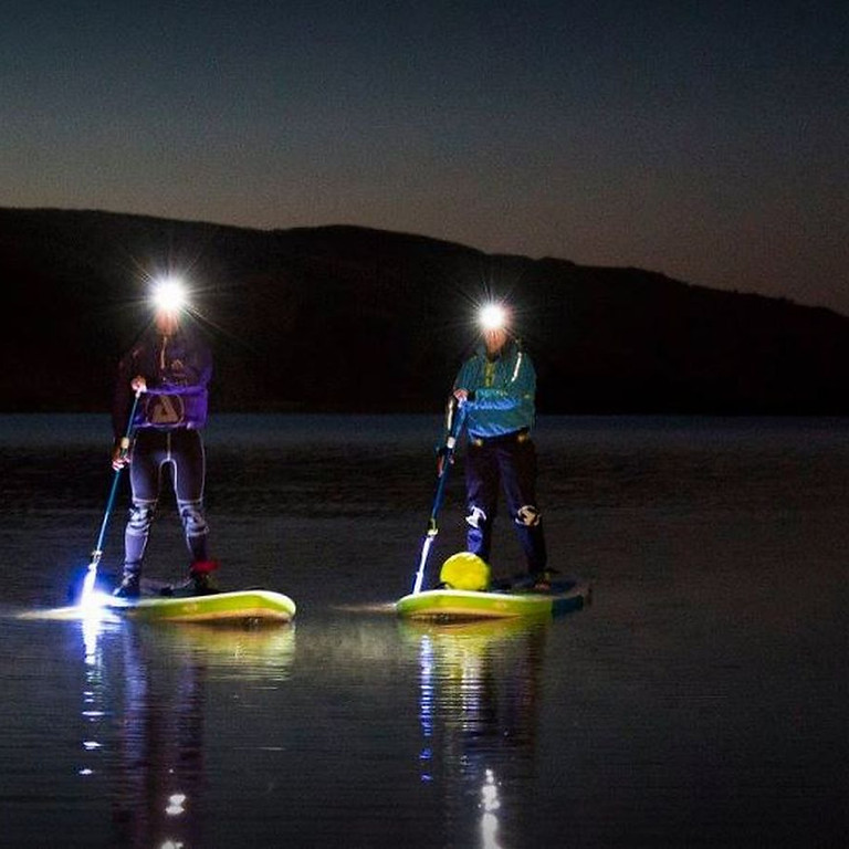 Charity Night Time Paddle Session