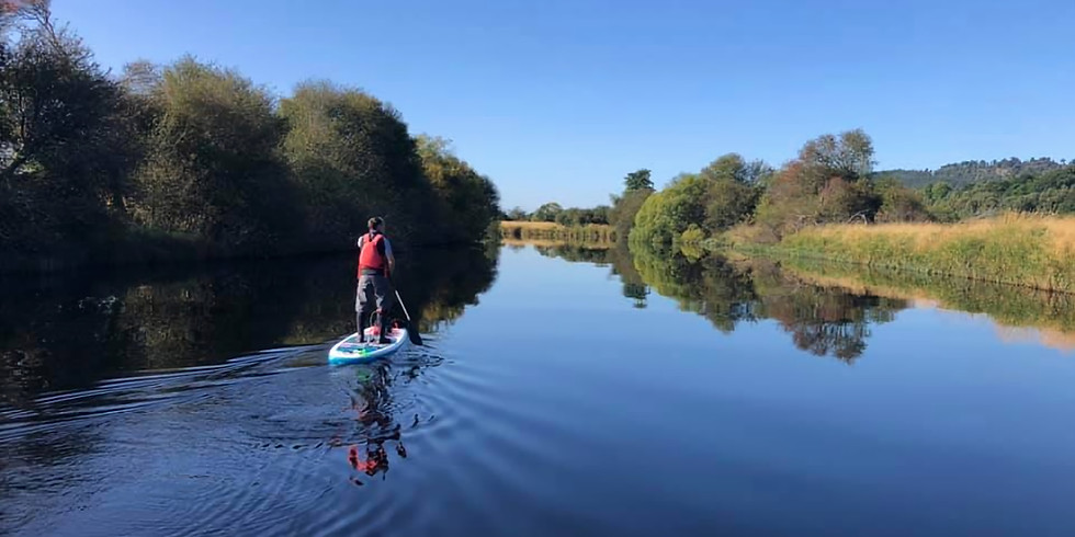 Kingussie - Aviemore River SUP Exploration with Jason