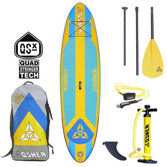 O'Shea 10'2 QSx Inflatable SUP 2021 Teal/Yellow