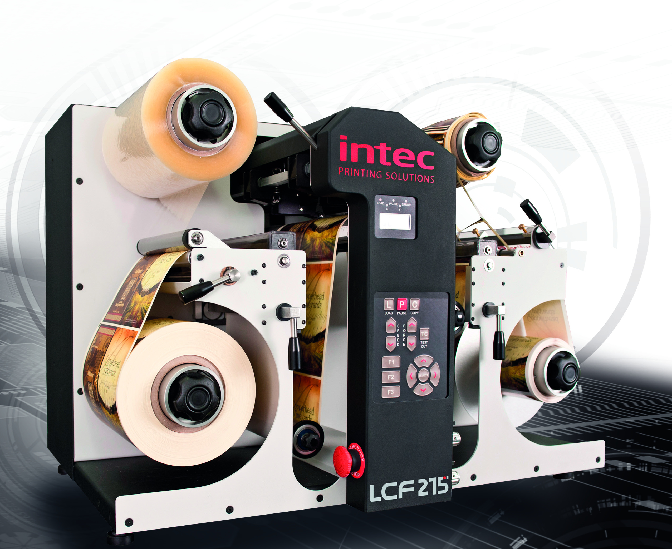 lcf 215 for label production